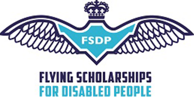 Flying for disabled [logo]