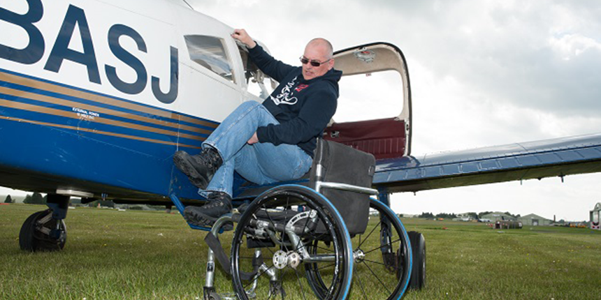Flying for disabled [picture]