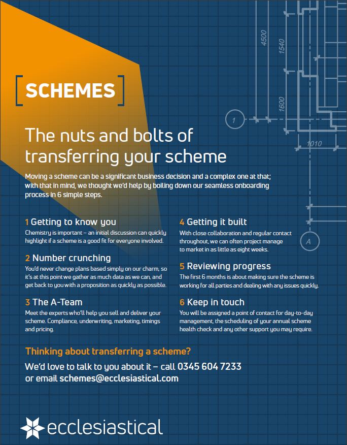Transferring your scheme infographic [image]
